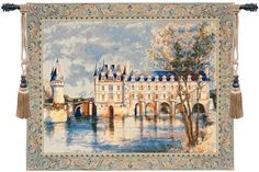 Chenonceau Castle European Wall Hanging