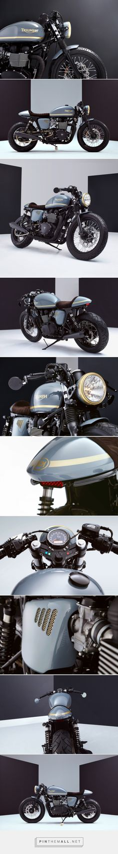 Turkish Delight: A Bonneville custom from Bunker | Bike EXIF