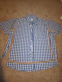 beck-a-boo: T-Shirt Refashioning