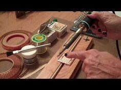 A fast overview of products and tools used for soldering Memory Glass jewelry  or pottery shards with lovely glaze...hmm