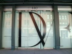 DVF store front