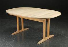 Vara: 3714342Spisebord med udtræk, massiv ubehandlet bøg, dansk møbelproducent (3)