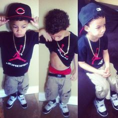 This blog is just all about cute kids, kids that have swagg, and of course DOPE…