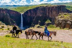 Overnight pony trails at Semonkong to remote villages in Lesotho.