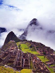 Machu Pichu - first place I put on my bucket list...years ago.