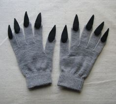 for Halloween costume or pretend play Claw gloves charcoal gray and black for Halloween costume or pretend play Claw gloves charcoal gray and black for Halloween costum. Homemade Costumes For Kids, Diy Costumes, Adult Costumes, Halloween Costumes, Grease Costumes, Woman Costumes, Couple Costumes, Pirate Costumes, Group Costumes