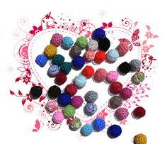 Bolitas al crochet