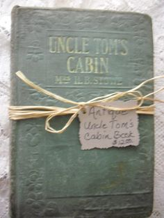 Vintage Uncle Tom's Cabin Book by jjones1128 on Etsy, $12.00