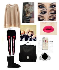 """""""Ashley"""" by lashlyn on Polyvore featuring UGG Australia, Proenza Schouler, women's clothing, women's fashion, women, female, woman, misses and juniors"""