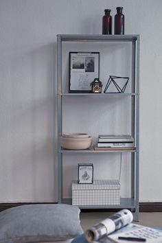 HYLLIS stellingkast | Deze pin repinnen we om jullie te inspireren. #IKEArepint #IKEA #kast #stelling