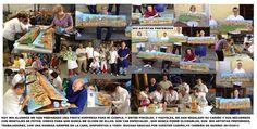 Monitora de taller con grupo de alumnos y alumnas de asociaciones Girasoles y Traiña. Proyecto Alcazaba