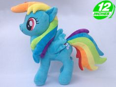 My Little Pony RAINBOW DASH Plush Doll POPL8007