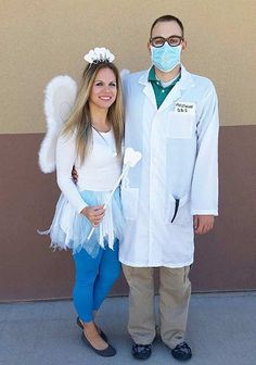 Dentist Tooth Fairy Easy Couple Halloween Costume