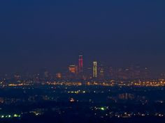 Lower Manhattan from about 15 miles out in NJ... Eagle Rock Reservation 8.10.12