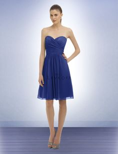 Bridesmaid Dress Style 323 This one's kind of cute!. I don't know if it comes in the color you want, though, since it's from a different site.