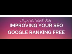 Improving Seo Ranking Google Tips And tricks how to drive mass traffic to your website 👌 - http://www.social-bookmarking-demon.com/improving-seo-ranking-google-tips-and-tricks-how-to-drive-mass-traffic-to-your-website-%f0%9f%91%8c/
