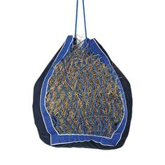 Deluxe Hay Net Bag, blue & black $30 Fall 2016