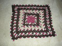 Raspberry Chocolate lapghan for Suncoast Hospice - 2010