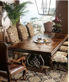 Tuscan Dining Room Sets | Century Furniture Dining Table U0026 Dining Tables  Home Portfolio Ideas .