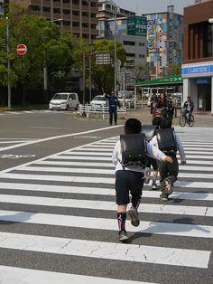 Always love ランドセル ^^  (Kobe, Japan 帰り道)