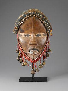 Dan Mask, Ivory Coast or Liberia