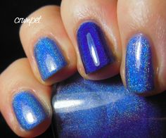 The Crumpet: Darling Diva Polish - Rhiannon and Nightbird from The White Witch Collection