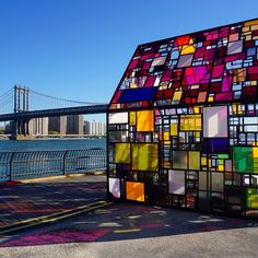 Colorful Glass House Sculpture Dazzles in New York - My Modern Met