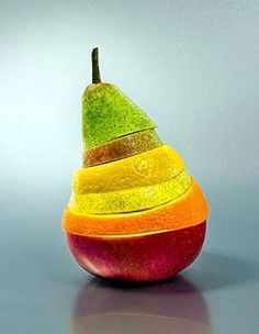 Colourful food-art