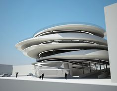 Collins Park Garage | Zaha Hadid Architects | Miami, Florida | Rendering DesignBoom