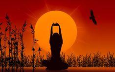 La meditación contribuye a mejorar la salud general.