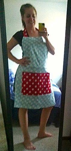 easy apron DIY