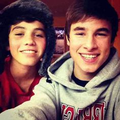 Kian's dimples and Sam's smile♥