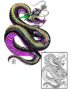Dragon Tattoos DFF-01007 Created by Damien Friesz