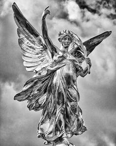 Goddess Nike (winged victory) London