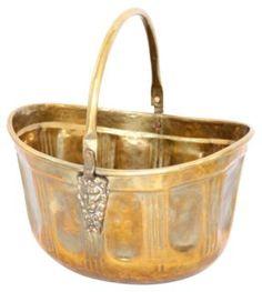 Brass Lion Head Coal Scuttle https://www.onekingslane.com/shop/debra-hall-lifestyle