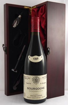 1995 Bourgogne No.1 Dominique Laurent #vintage #wine Black cherries, cassis and violets notes in its velvety-textured, opulent and medium-to-full-bodied flavour.