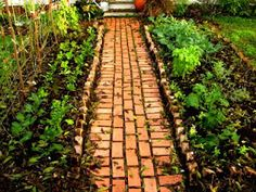 hippychick's adventure to sustainable happiness: the art of the garden path