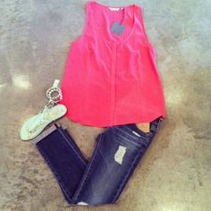 ZOA Princess Line Tank $86 I want this outfit!!