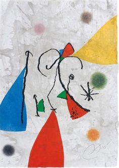 Joan Miró - Passage de l'Égyptienne, 1985
