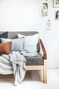 A studio is transformed into a lovely guest room