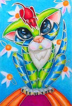 """""""Daisy Kitty"""" par Alma Lee"""