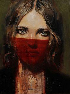 Paintings by Artist Adam Hunter Caldwell Portraits, Portrait Art, Portrait Paintings, Adam Hunter, A Level Art, Dark Photography, Elements Of Art, Contemporary Artists, Female Art