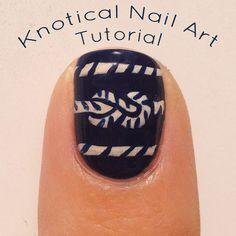 Knotical Nail Art Tutorial