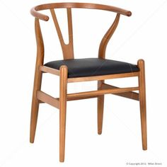 Wishbone Dining Chair - Walnut - Buy the Walnut Dining Chair and Danish Furniture from Milan Direct