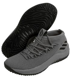 sale retailer 311b5 f6be9 adidas DAME 4 Mens Basketball Shoes Shoe Sports NBA Boost Gray NWT CQ0474  adidas Basketball