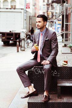 Casual suiting. #menswear #mensstyle #mensfashion #style #fashion #dapper