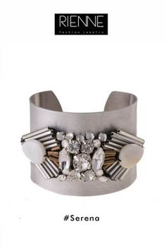 Rienne Creations statement jewelry spring/summer 2013 crystal bangle
