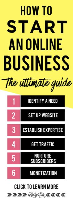 Starting an online business? Here are my best tips and ideas on how to start a successful online business. Learn how to get profitable with this ultimate guide.