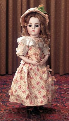 Keeper of the Dolls : 84 Lovely French Bisque Bebe Bru Jne,Size 6,with Brown Eyes and Gentle Expression