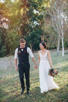 Bernadette & Sam's Relaxed Margaret River Wedding